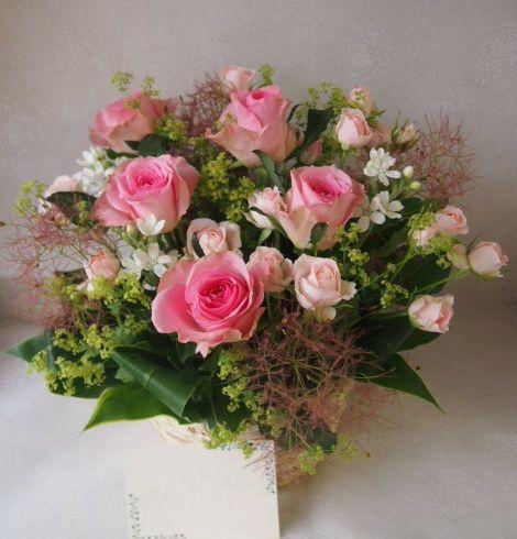 花ギフト|フラワーギフト|誕生日 花|カノシェ話題|スタンド花|ウエディングブーケ|花束|花屋|49147
