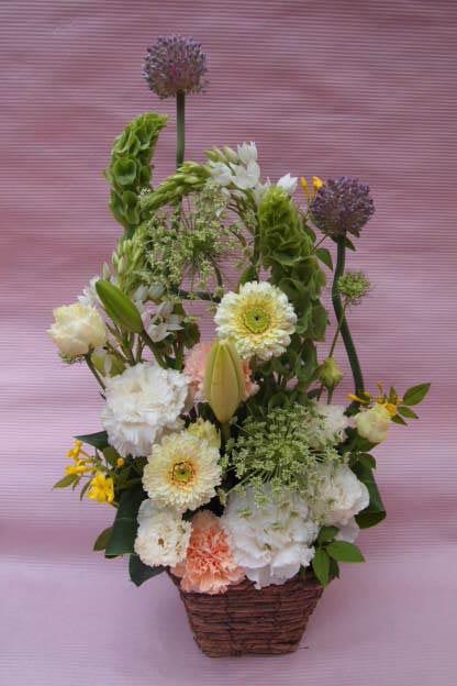 花ギフト|フラワーギフト|誕生日 花|カノシェ話題|スタンド花|ウエディングブーケ|花束|花屋|P5232910