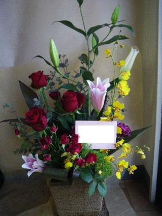 花ギフト|フラワーギフト|誕生日 花|カノシェ話題|スタンド花|ウエディングブーケ|花束|花屋|ちか 赤