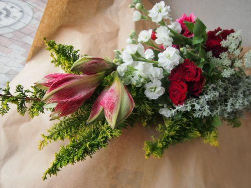 花ギフト|フラワーギフト|誕生日 花|カノシェ話題|スタンド花|ウエディングブーケ|花束|花屋|52016(1)