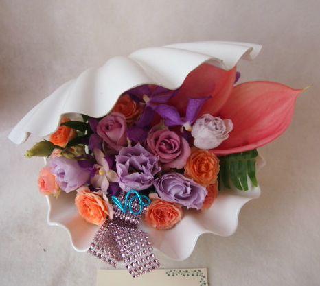 花ギフト|フラワーギフト|誕生日 花|カノシェ話題|スタンド花|ウエディングブーケ|花束|花屋|41776