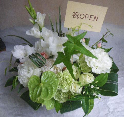 花ギフト|フラワーギフト|誕生日 花|カノシェ話題|スタンド花|ウエディングブーケ|花束|花屋|白グリ
