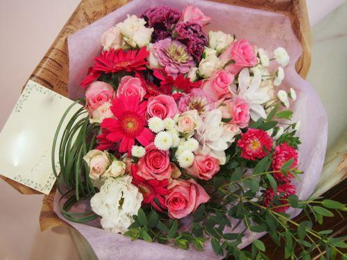 花ギフト|フラワーギフト|誕生日 花|カノシェ話題|スタンド花|ウエディングブーケ|花束|花屋|56557