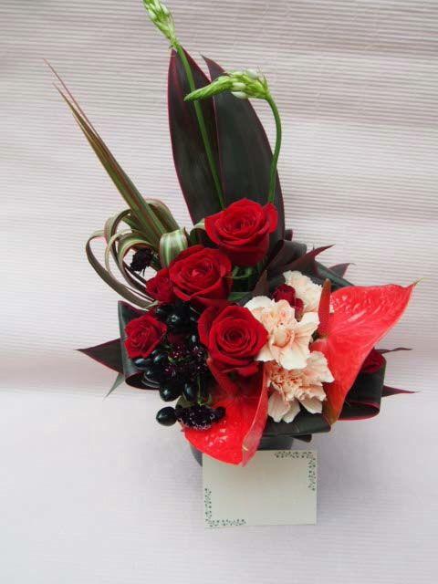 花ギフト|フラワーギフト|誕生日 花|カノシェ話題|スタンド花|ウエディングブーケ|花束|花屋|51628