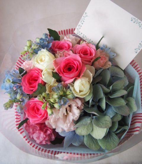 花ギフト|フラワーギフト|誕生日 花|カノシェ話題|スタンド花|ウエディングブーケ|花束|花屋|41385