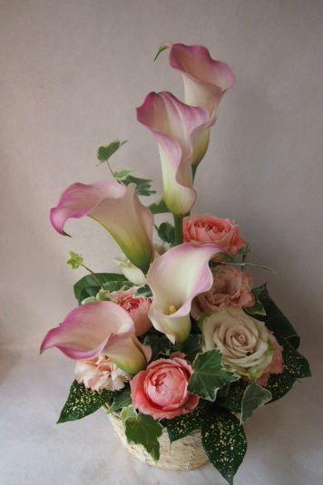 花ギフト|フラワーギフト|誕生日 花|カノシェ話題|スタンド花|ウエディングブーケ|花束|花屋|40562