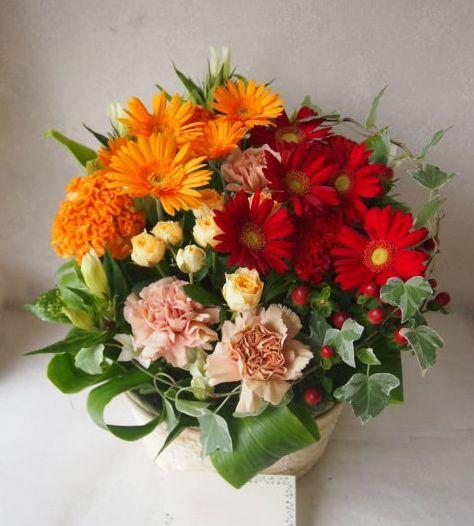 花ギフト|フラワーギフト|誕生日 花|カノシェ話題|スタンド花|ウエディングブーケ|花束|花屋|50537