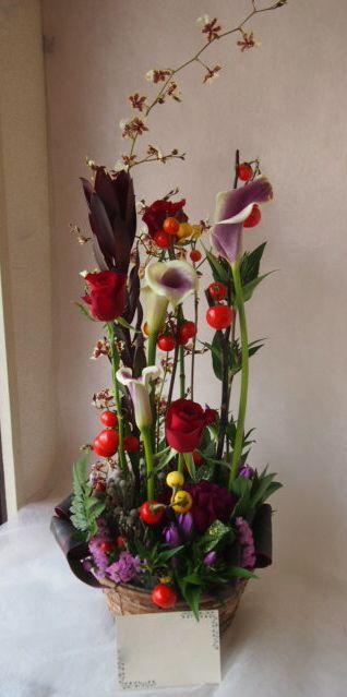 花ギフト|フラワーギフト|誕生日 花|カノシェ話題|スタンド花|ウエディングブーケ|花束|花屋|42611