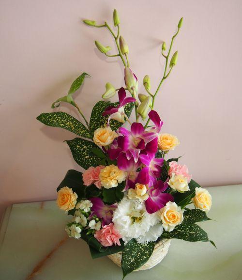 花ギフト|フラワーギフト|誕生日 花|カノシェ話題|スタンド花|ウエディングブーケ|花束|花屋|56945