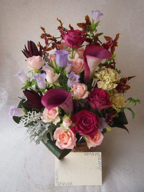 花ギフト|フラワーギフト|誕生日 花|カノシェ話題|スタンド花|ウエディングブーケ|花束|花屋|56190