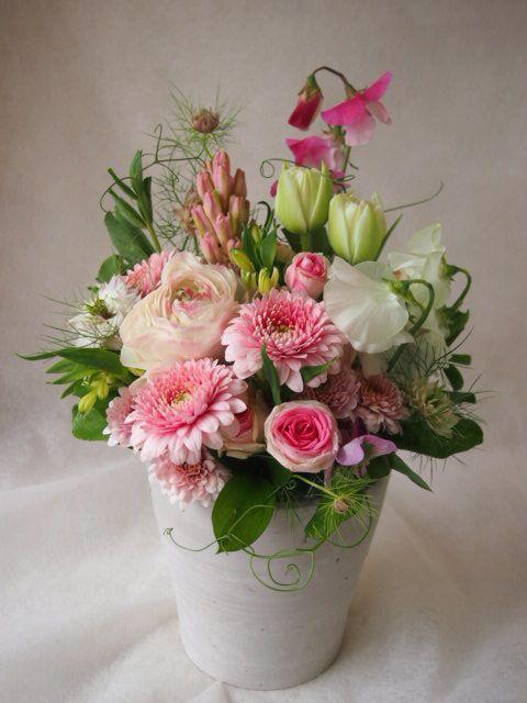 花ギフト|フラワーギフト|誕生日 花|カノシェ話題|スタンド花|ウエディングブーケ|花束|花屋|45722