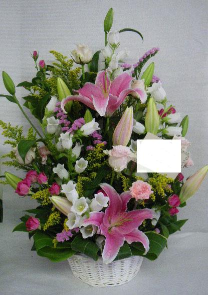花ギフト|フラワーギフト|誕生日 花|カノシェ話題|スタンド花|ウエディングブーケ|花束|花屋|ゆり りえ