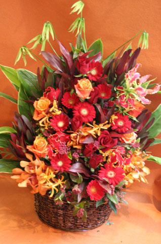 花ギフト フラワーギフト 誕生日 花 カノシェ話題 スタンド花 ウエディングブーケ 花束 花屋 赤