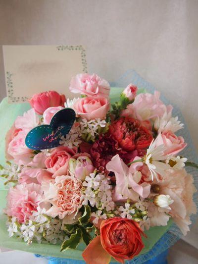 花ギフト|フラワーギフト|誕生日 花|カノシェ話題|スタンド花|ウエディングブーケ|花束|花屋|100117