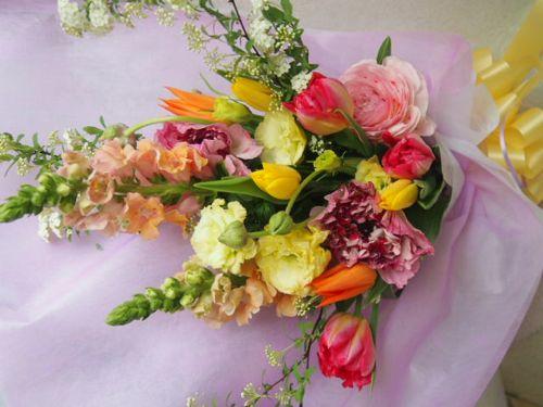 花ギフト|フラワーギフト|誕生日 花|カノシェ話題|スタンド花|ウエディングブーケ|花束|花屋|54334