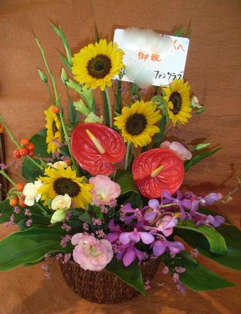 花ギフト|フラワーギフト|誕生日 花|カノシェ話題|スタンド花|ウエディングブーケ|花束|花屋|アンスひまわり