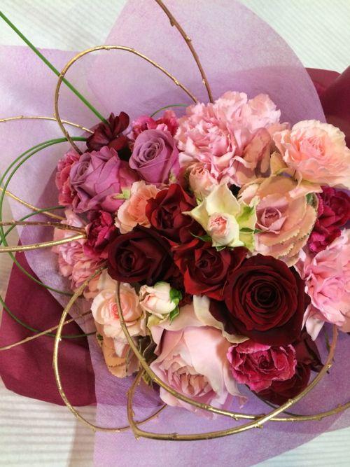 花ギフト|フラワーギフト|誕生日 花|カノシェ話題|スタンド花|ウエディングブーケ|花束|花屋|IMG_8661