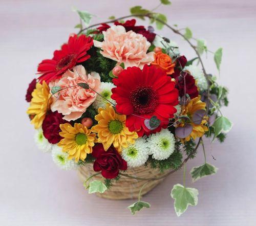 花ギフト|フラワーギフト|誕生日 花|カノシェ話題|スタンド花|ウエディングブーケ|花束|花屋|PB190693