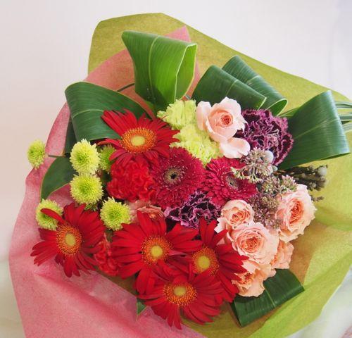 花ギフト|フラワーギフト|誕生日 花|カノシェ話題|スタンド花|ウエディングブーケ|花束|花屋|58066
