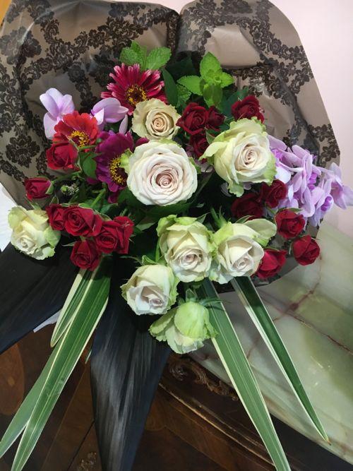 花ギフト|フラワーギフト|誕生日 花|カノシェ話題|スタンド花|ウエディングブーケ|花束|花屋|IMG_3503