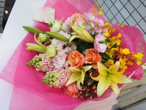花ギフト|フラワーギフト|誕生日 花|カノシェ話題|スタンド花|ウエディングブーケ|花束|花屋|53733
