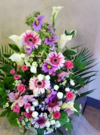 花ギフト|フラワーギフト|誕生日 花|カノシェ話題|スタンド花|ウエディングブーケ|花束|花屋|ピンクカラー