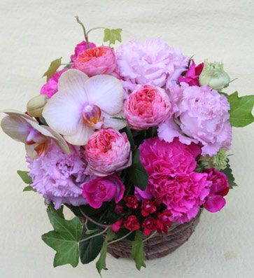 花ギフト フラワーギフト 誕生日 花 カノシェ話題 スタンド花 ウエディングブーケ 花束 花屋 1030