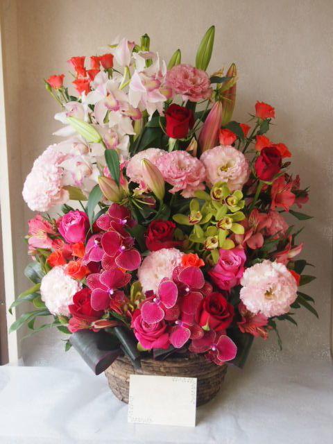 花ギフト|フラワーギフト|誕生日 花|カノシェ話題|スタンド花|ウエディングブーケ|花束|花屋|55971