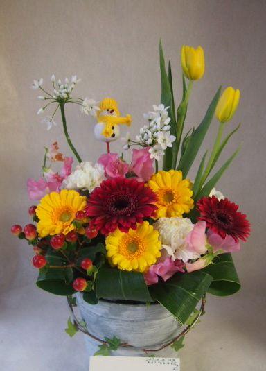 花ギフト|フラワーギフト|誕生日 花|カノシェ話題|スタンド花|ウエディングブーケ|花束|花屋|45625