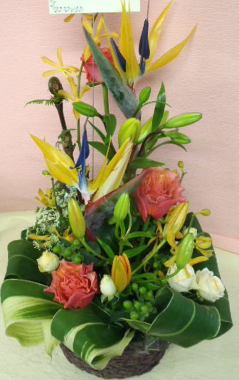 花ギフト フラワーギフト 誕生日 花 カノシェ話題 スタンド花 ウエディングブーケ 花束 花屋 jun-suto