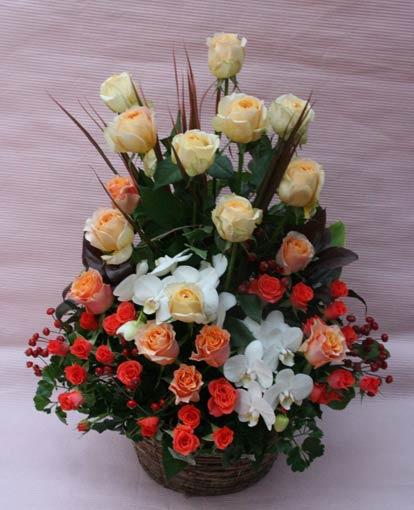 花ギフト|フラワーギフト|誕生日 花|カノシェ話題|スタンド花|ウエディングブーケ|花束|花屋|IMG_2063(1)