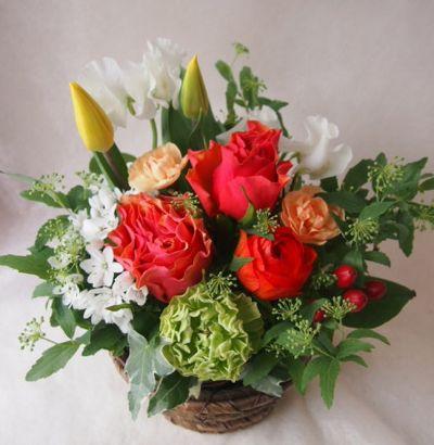 花ギフト|フラワーギフト|誕生日 花|カノシェ話題|スタンド花|ウエディングブーケ|花束|花屋|100287