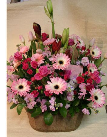 花ギフト|フラワーギフト|誕生日 花|カノシェ話題|スタンド花|ウエディングブーケ|花束|花屋|ピンク じゅん