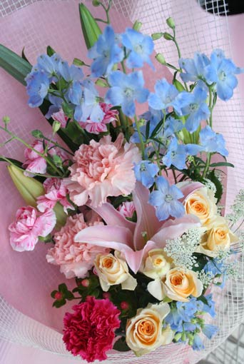 花ギフト|フラワーギフト|誕生日 花|カノシェ話題|スタンド花|ウエディングブーケ|花束|花屋|2015_m_b_1