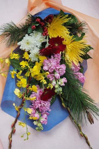 花ギフト|フラワーギフト|誕生日 花|カノシェ話題|スタンド花|ウエディングブーケ|花束|花屋|2016_ny_b