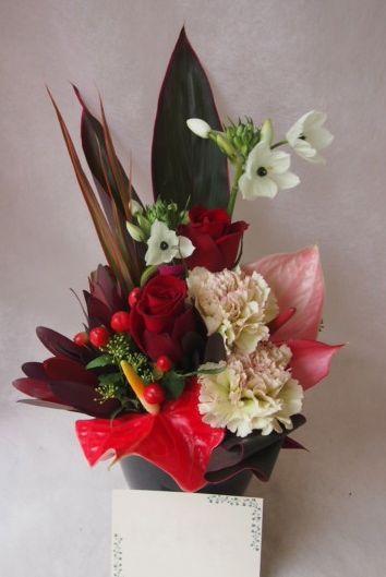 花ギフト|フラワーギフト|誕生日 花|カノシェ話題|スタンド花|ウエディングブーケ|花束|花屋|46781