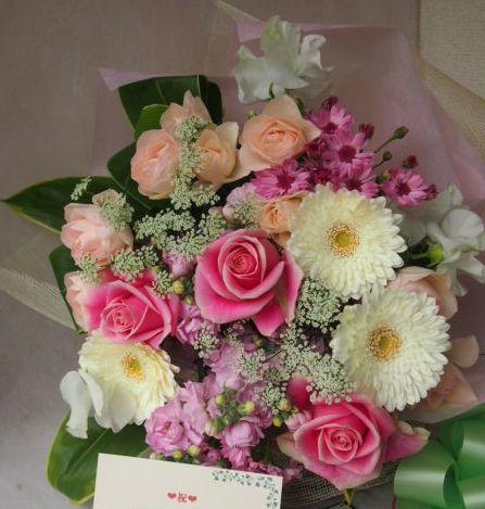 花ギフト|フラワーギフト|誕生日 花|カノシェ話題|スタンド花|ウエディングブーケ|花束|花屋|45852