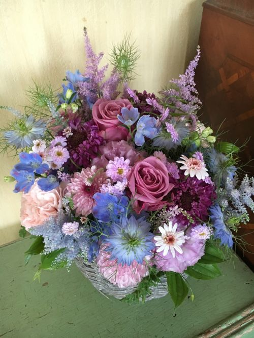 花ギフト|フラワーギフト|誕生日 花|カノシェ話題|スタンド花|ウエディングブーケ|花束|花屋|IMG_1086