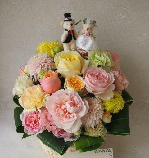 花ギフト|フラワーギフト|誕生日 花|カノシェ話題|スタンド花|ウエディングブーケ|花束|花屋|48722
