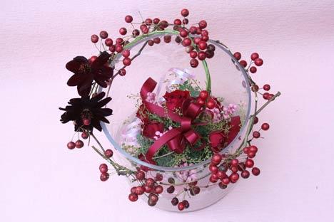 花ギフト|フラワーギフト|誕生日 花|カノシェ話題|スタンド花|ウエディングブーケ|花束|花屋|misaki-wed2