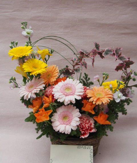 花ギフト|フラワーギフト|誕生日 花|カノシェ話題|スタンド花|ウエディングブーケ|花束|花屋|52289