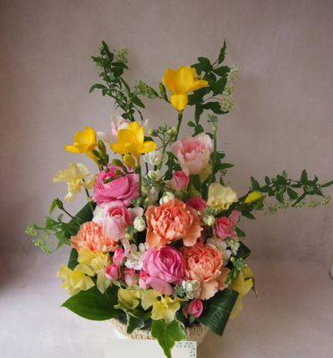 花ギフト|フラワーギフト|誕生日 花|カノシェ話題|スタンド花|ウエディングブーケ|花束|花屋|38923