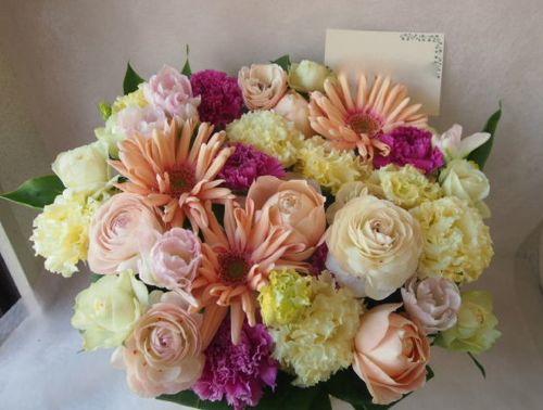 花ギフト|フラワーギフト|誕生日 花|カノシェ話題|スタンド花|ウエディングブーケ|花束|花屋|46561