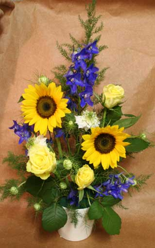 花ギフト フラワーギフト 誕生日 花 カノシェ話題 スタンド花 ウエディングブーケ 花束 花屋 あいさん