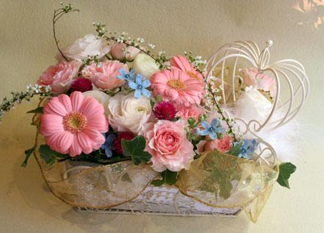 花ギフト|フラワーギフト|誕生日 花|カノシェ話題|スタンド花|ウエディングブーケ|花束|花屋|1a45c9b9
