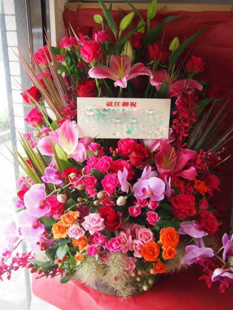 花ギフト|フラワーギフト|誕生日 花|カノシェ話題|スタンド花|ウエディングブーケ|花束|花屋|49014