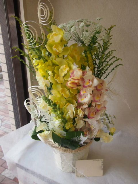 花ギフト|フラワーギフト|誕生日 花|カノシェ話題|スタンド花|ウエディングブーケ|花束|花屋|53213