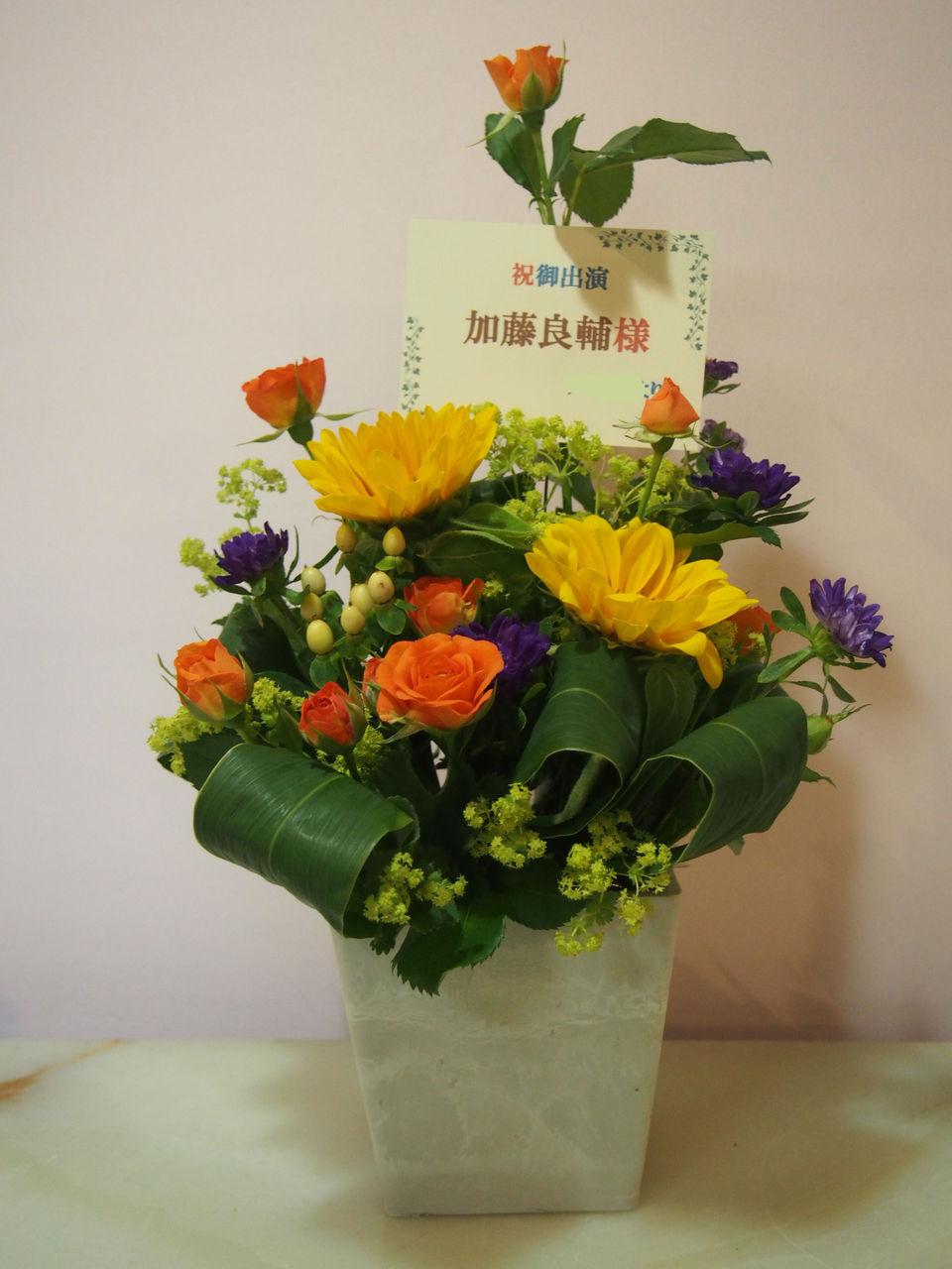 花ギフト|フラワーギフト|誕生日 花|カノシェ話題|スタンド花|ウエディングブーケ|花束|花屋|55322