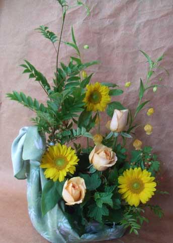 花ギフト|フラワーギフト|誕生日 花|カノシェ話題|スタンド花|ウエディングブーケ|花束|花屋|風呂敷