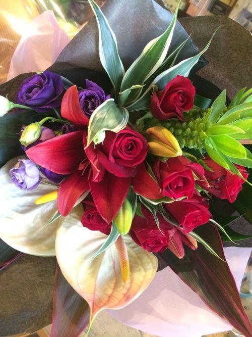 花ギフト|フラワーギフト|誕生日 花|カノシェ話題|スタンド花|ウエディングブーケ|花束|花屋|IMG_6089